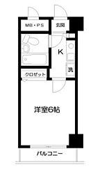 日神パレス吉野町[2階]の間取り