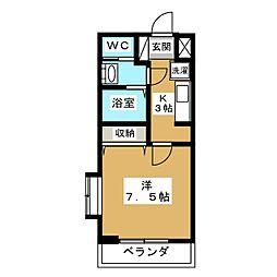 メゾン・ファイン[1階]の間取り