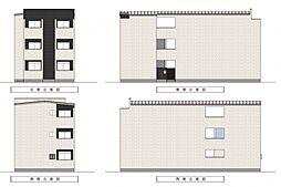 Villetta三国ヶ丘[2階]の外観