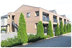 茨城県つくば市高見原2丁目の賃貸アパートの外観