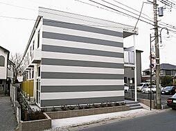 埼玉県川口市桜町1丁目の賃貸アパートの外観