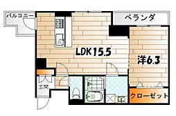 ルーヴル黄金[6階]の外観