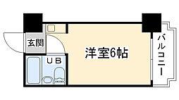大阪府大阪市鶴見区今津北5丁目の賃貸マンションの間取り