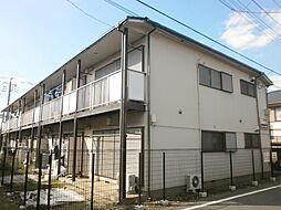 埼玉県所沢市中新井1丁目の賃貸アパートの外観