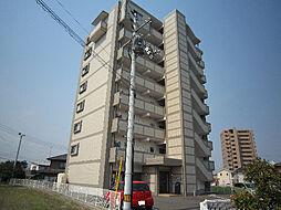 愛媛県東温市牛渕の賃貸マンションの外観
