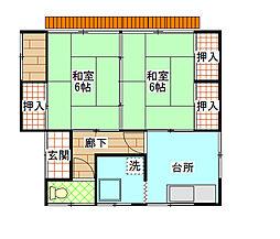 [一戸建] 茨城県日立市東金沢町4丁目 の賃貸【/】の間取り