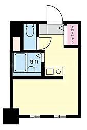 シンセービル山王町[8階]の間取り