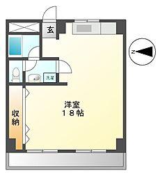 ラッフル徳川[7階]の間取り