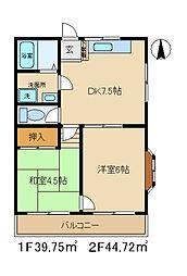 BM[2階]の間取り