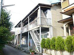 大阪府富田林市大字彼方の賃貸アパートの外観