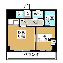 ベター・アール02[2階]の間取り