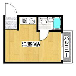 コーポ平良[2階]の間取り