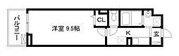 アビタシオン吉祥院[3階]の間取り