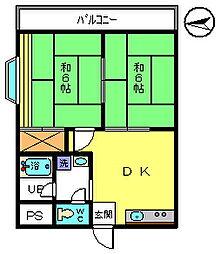 NKハイム3[3階]の間取り