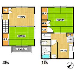 佐々木アパート[1階]の間取り