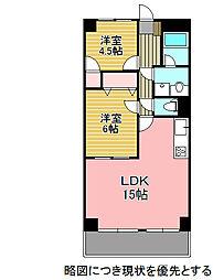 エクセル鶴舞[3階]の間取り