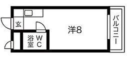 アベニュー立花[4階]の間取り