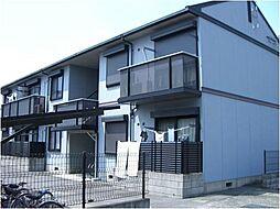 滋賀県湖南市石部中央4丁目の賃貸アパートの外観