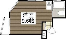 広島県広島市佐伯区五日市中央2丁目の賃貸マンションの間取り