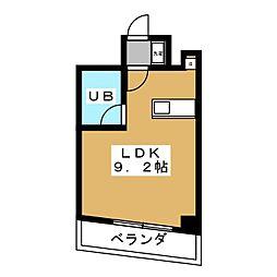 アクア堤[5階]の間取り