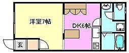ジョイフル大塚[2階]の間取り