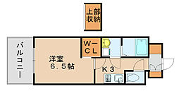 ウェルブライト博多[4階]の間取り