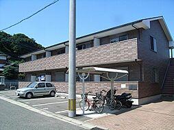 福岡県宗像市日の里1丁目の賃貸アパートの外観