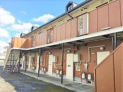 静岡県三島市文教町2丁目の賃貸アパートの外観