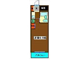 ライブトピア子安[2階]の間取り