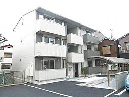 大阪府堺市中区福田の賃貸アパートの外観