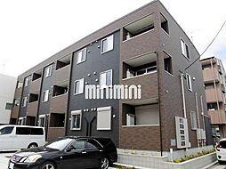 愛知県名古屋市中川区葉池町2丁目の賃貸アパートの外観