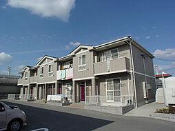 兵庫県姫路市飾磨区阿成渡場の賃貸アパートの外観