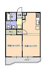 綾瀬レジデンス[1階]の間取り