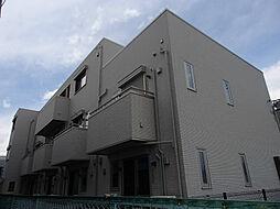 東京都立川市上砂町1丁目の賃貸アパートの外観