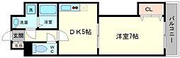 レインボーコートパートIII[11階]の間取り
