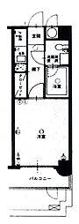 エステート・モア六本松II[2階]の間取り