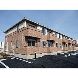 茨城県水戸市青柳町の賃貸アパートの外観