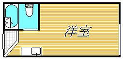 インデンス三軒茶屋III[1階]の間取り