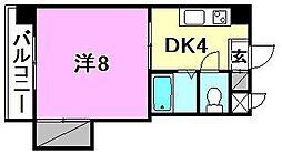 ユーアイマンション[401 号室号室]の間取り