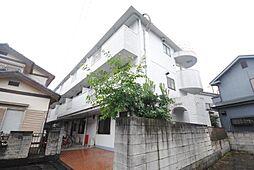 埼玉県越谷市恩間の賃貸マンションの外観