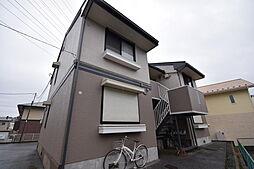 栃木県宇都宮市鶴田町の賃貸アパートの外観