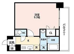 ADVANCE 大阪 SORTE[511号室]の間取り