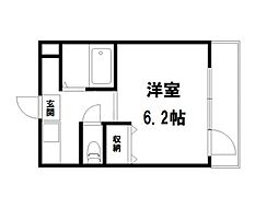STUDIO KITANO[1階]の間取り