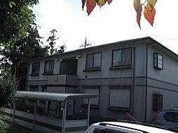 茨城県坂東市みどり町の賃貸アパートの外観