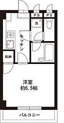 東京都福生市大字福生二宮の賃貸マンションの間取り