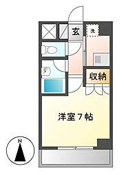 STUDIO SHIROGANE[5階]の間取り