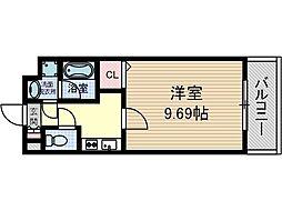 ルーセントヒル[3階]の間取り