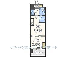 仮)博多駅東3丁目プロジェクト[7階]の間取り