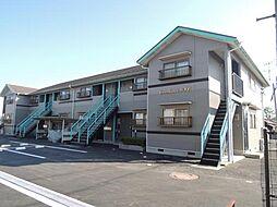 滋賀県東近江市西中野町の賃貸アパートの外観