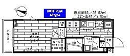 ステージグランデ世田谷上野毛アジールコート[1階]の間取り